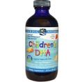น้ำมันตับปลา DHA Nordic Naturals สำหรับเด็กรส Strawberry 8 fl oz (237 ml)