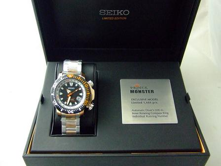 SEIKO RED AND PRINCE MONSTER รูปที่ 1