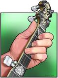 สอนเล่นเครื่องดนตรี 5-Strings Banjo เล่นเพลงสไตล์ Bluegrass
