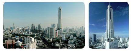 ใหม่ รับประทานอาหารบนภัตตาคารลอยฟ้าใบหยก Bangkok Sky