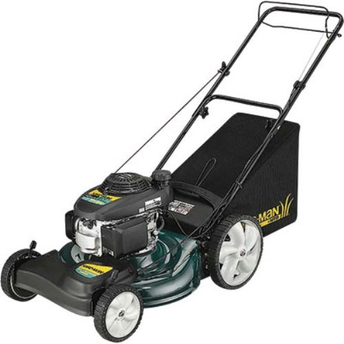 Yard-Man 12AVD39Q701 21-Inch 160cc Honda GCV Mulch/Side Discharge/Bagging Gas Powered Self Propelled Lawn Mower with High Rear Wheels รูปที่ 1