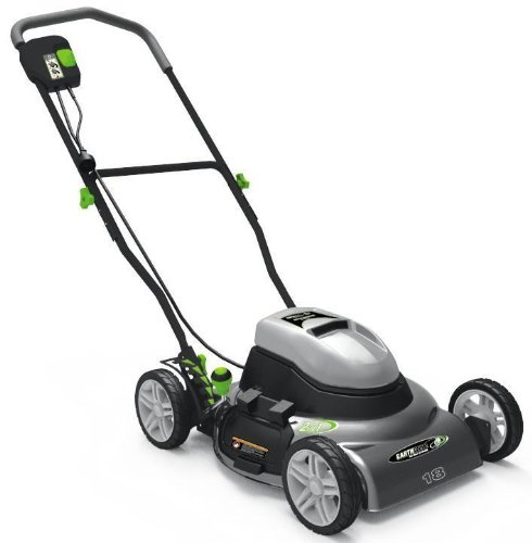 Earthwise 50218 18-Inch 12 Amp Side Discharge/Mulching Electric Lawn Mower รูปที่ 1