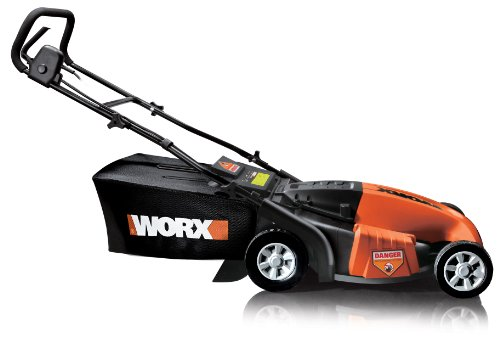 WORX WG718 19-Inch 13 amp Mulching/Side Discharge/Bagging Electric Lawn Mower รูปที่ 1