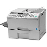 Panasonic Panafax UF-8200 - Multifunction ( fax / copier / printer / scanner ) - B/W - laser - printing (up to): 19 ppm - 550 sheets - 33.6 Kbps - USB, 10/100 Base-TX รูปที่ 1