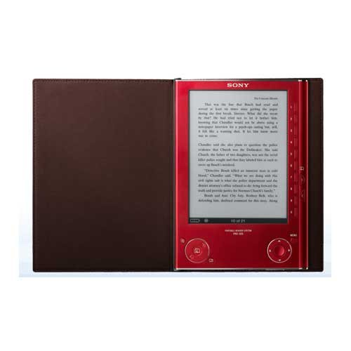 Sony Reader Digital book - Red (PRS505RC) รูปที่ 1
