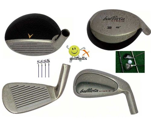American Golf Exchange Men's Left Hand Full Golf Club Set 450cc Driver, Fairway Woods 3-PW Integrated Combo Irons, Stand Bag & Putter. ( American Golf Golf ) รูปที่ 1