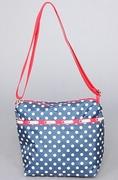 LeSportsac The Small Cleo Crossbody Hobo in Yacht Dot Print,Bags (Handbags/Totes) for Women ( LeSportsac Hobo bag  )