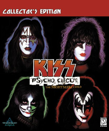 KISS Psycho Circus:  The Nightmare Child Collectors Edition Game Shooter [Pc CD-ROM] รูปที่ 1