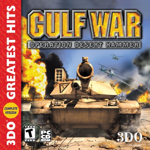 Gulf War (Jewel Case) Game Shooter [Pc CD-ROM] รูปที่ 1