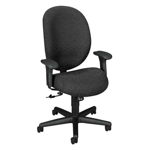 HON7604BW90T Executive Chair, High Back, 27-1/8x38-1/2x43-7/8, Navy  รูปที่ 1