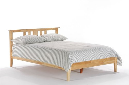 Thyme Twin Platform Bed w/ Natural Finish (Oak bed) รูปที่ 1