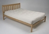 รูปย่อ Mission Maple Wood Platform Bed Frame - Twin  รูปที่1
