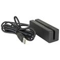 USB Triple Track POS Magnetic Stripe Card Reader ( Generic Barcode Scanner )