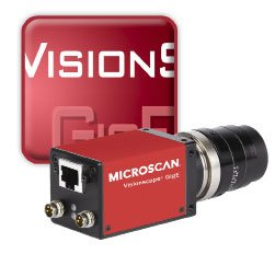 Microscan Visionscape GigE Solution 98-000141-01 ( Microscan Barcode Scanner ) รูปที่ 1