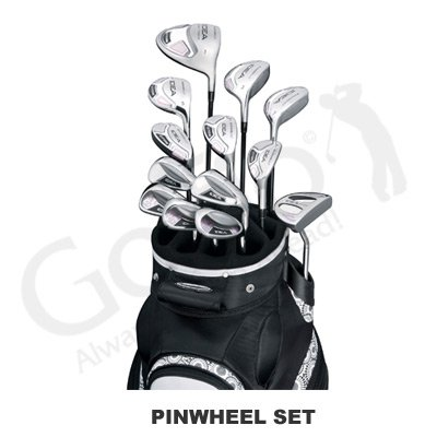 Adams Lady A7 OS 14-Piece Pinwheel Full Set in Petite Length ( Adams Golf ) รูปที่ 1