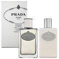 Prada Infusion d'Homme for Men Gift Set - 3.4 oz EDT Spray + 3.4 oz Aftershave Balm ( Men's Fragance Set)