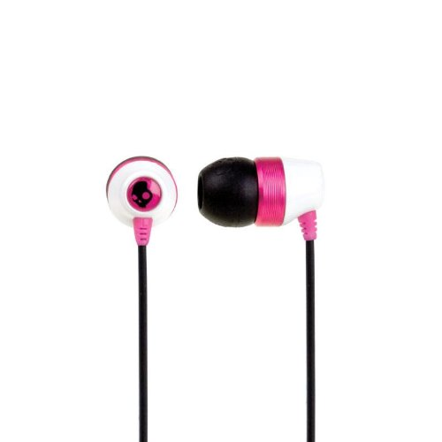 Skullcandy Riot Ear Buds White/Pink, One Size ( Skullcandy Ear Bud Headphone ) รูปที่ 1