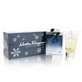 Subtil By Salvatore Ferragamo For Men. Set-edt Spray 3.3 Ounces &  Shampoo And Shower Gel 2.5 Ounces ( Men's Fragance Set)