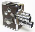 Vintage Revere 8 8mm 3 Lens Cine Movie Camera - SPECIAL