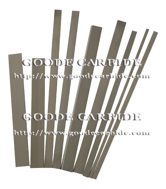 Tungsten Carbide Hard Metal Square Round Bars Plates Sheets Flats Strips รูปที่ 1