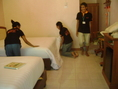อบรมแม่บ้านโรงแรม พนักงานทำความสะอาดโรงแรม พนักงานทำความสะอาด และอบรมงานแม่บ้านสำนักงาน