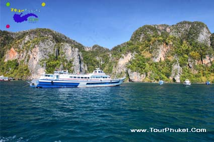 Phuket Tour Packages go to Phi Phi Island One Day Trips รูปที่ 1