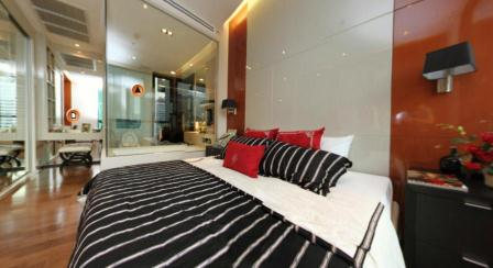 The Address 28: 2 BR + 2 Baths, 73 Sq.m, 20th fl for Sale รูปที่ 1