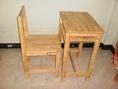 โต๊ะเก้าอี้นักเรียนประถมไม้ยางพารา