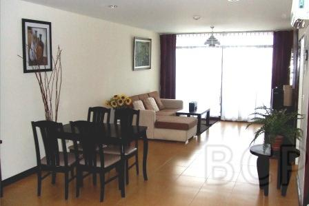 JC Tower: 2 BR + 2 Baths, 85 Sq.m, 9th fl for Rent รูปที่ 1