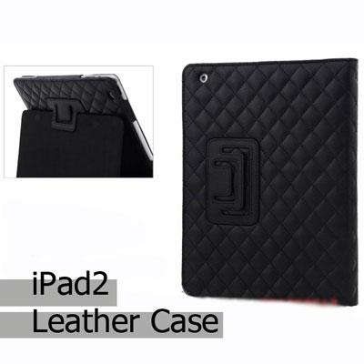 iPad Slim Jacket Leather case เคสไอแพด2 แบบหนังปักลายสวยหรู รูปที่ 1