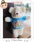 ขายปลีกขายส่ง ตุ๊กตาหมีใส่เสื้อสกรีน
