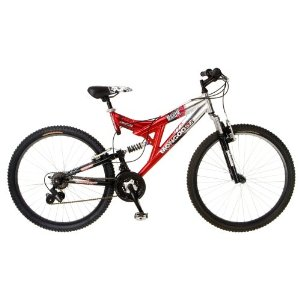 Cheap Price Mongoose Maxim Dual-Suspension Mountain Bike (26-Inch Wheels) รูปที่ 1
