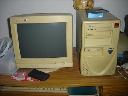 มือสอง] ขายคอมพิวเตอร์ทั้งชุดรุ่นเก่า : Online Oops!