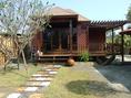 ขายบ้านสไตล์รีสอร์ท บ้านทรงไทย ซุ้มนั่งเล่น ศาลาทำจากไม้เก่าไม้เนื้อแข็งทุกรูปแบบ