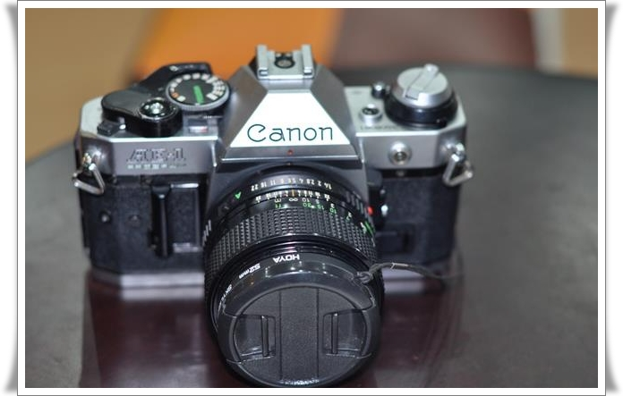 CANON AE-1 PROGRAM+LENS 50 mm F 1.8 รูปที่ 1