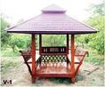 ซุ้มศาลาทรงไทย ศาลานั่งเล่น ราคาพิเศษพร้อมส่ง