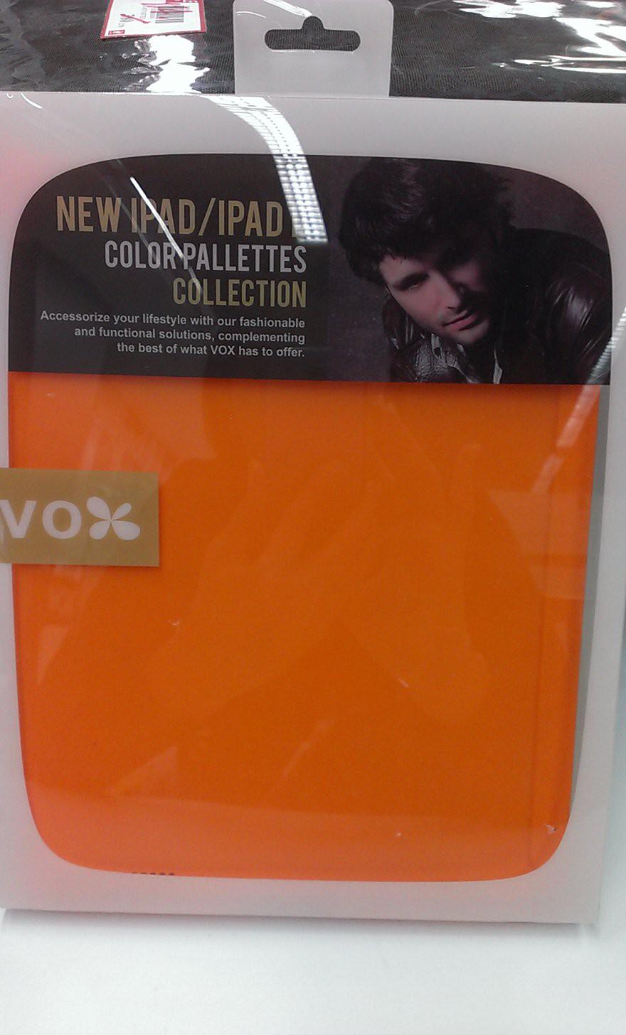 ขายเคส **VOX** NEW iPad/iPad 2 สีส้ม รูปที่ 1