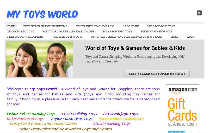 MY TOYS WORLD - World of Toys and Games for Babies and Kids รูปที่ 1