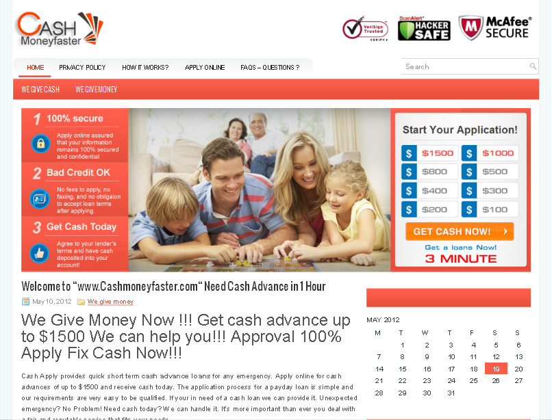 we give money express service payday loans online up to $1500 to day รูปที่ 1