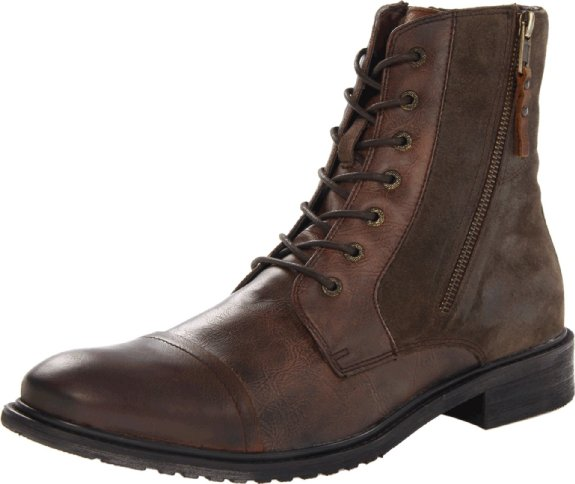 Kenneth Cole REACTION Men's Hit Men Lw Boot  รูปที่ 1