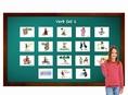 บัตรคำศัพท์ประกอบภาพ คำกริยา สำหรับเด็ก ป.1-ป.2 Verb 1 Flashcards