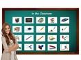 บัตรคำศัพท์ประกอบภาพ อุปกรณ์การเรียน Classroom Flashcards