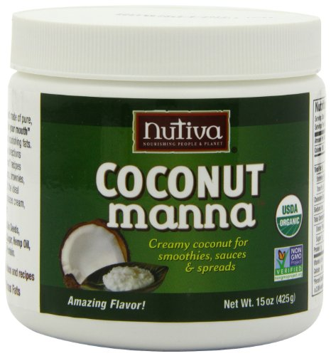 Nutiva Organic Coconut Manna, 15-Ounce (Pack of 2) ( Coconut oil Nutiva ) รูปที่ 1