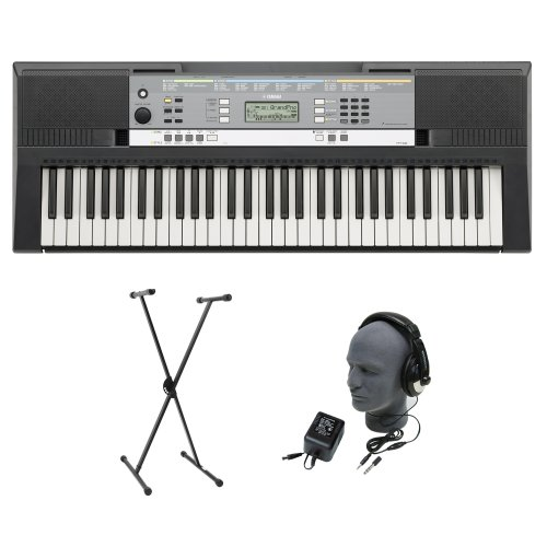Yamaha YPT-240 61-Key Premium Keyboard Pack with Headphones, Power Supply, and Stand รูปที่ 1