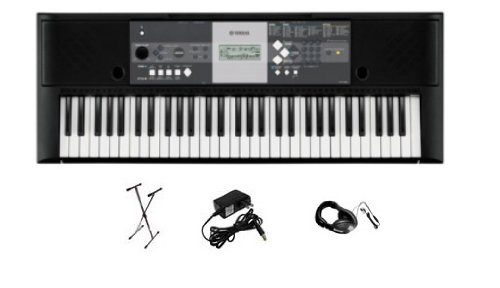 Yamaha YPT-230 Premium Keyboard Pack with Headphones, Power Supply, and Stand รูปที่ 1
