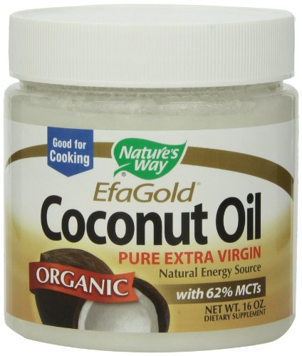 Nature's Way Coconut Oil, 16 Ounce ( Coconut oil Nature's Way ) รูปที่ 1