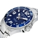 รูปย่อ Stuhrling Original Men's 395.33U16 Aquadiver Regatta Champion Professional Diver Swiss Quartz Date Blue Bezel Watch รูปที่3