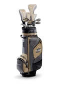 Callaway Strata Plus Women's Complete Golf Set with Bag, 16-Piece (Right Hand, Gold, Driver, Fairway, Hybrids, Irons, Putter) ( Callaway Golf )