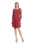 NY Collection Women's 3/4 Sleeve Lace Dress ( NY Collection Night Out dress )
