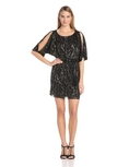 Jessica Simpson Women's Elbow Sleeve Belted Dress ( Jessica Simpson Night Out dress )